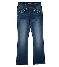 Lee® Girls' 7-16 Embellished Bootcut Jeans