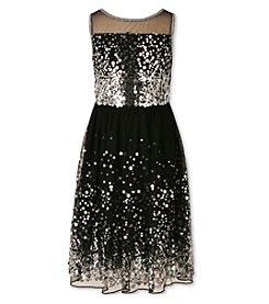 Speechless® Girls' 7-16 Sequin Illusion Dress