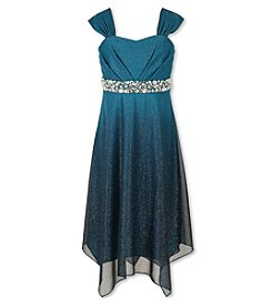 Speechless® Girls' 7-16 Glittered Sharkbite Dress