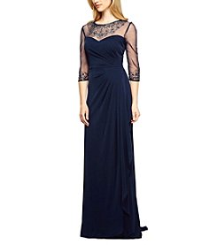 Alex Evenings® Sheer Sleeve Gown