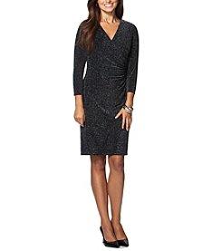 Chaps® Metallic Sheath Dress