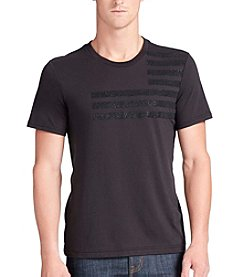 William Rast® Men's Graphic Flag Short Sleeve Tee