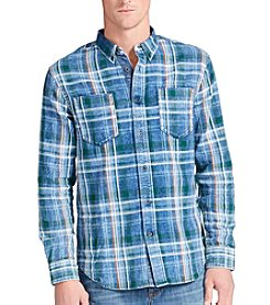 William Rast® Men's Hendrix Denim Long Sleeve Button Down Shirt
