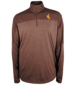 Champion® NCAA® Wyoming Cowboys Men's Zone Blitz 1/4 Zip Shirt