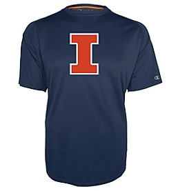 Champion® NCAA® Illinois Fighting Illini Men's Training Short Sleeve Tee