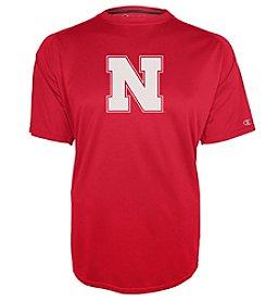 Champion® NCAA® Nebraska Cornhuskers Men's Training Short Sleeve Tee