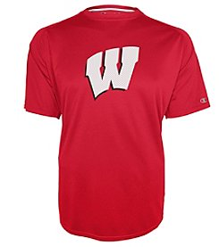Champion® Men's NCAA® University Of Wisconsin Training Short Sleeve Tee