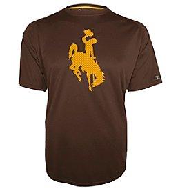 Champion® NCAA® Wyoming Cowboys Men's Training Short Sleeve Tee