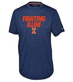 Champion® Men's NCAA® University Of Illinois Touchback Short Sleeve Tee