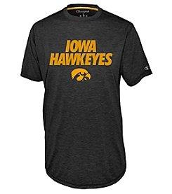 Champion® NCAA® University Of Iowa Men's Touchback Short Sleeve Tee