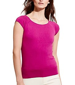 Lauren Ralph Lauren® Silk-Cotton Sweater