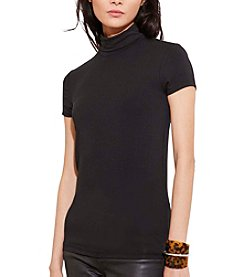 Lauren Ralph Lauren® Jersey Short-Sleeve Turtleneck