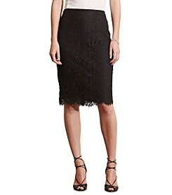 Lauren Ralph Lauren® Lace Pencil Skirt