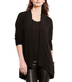 Lauren Ralph Lauren® Open-Front Jersey Cardigan