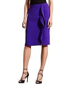 Lauren Ralph Lauren® Ruffled Pencil Skirt