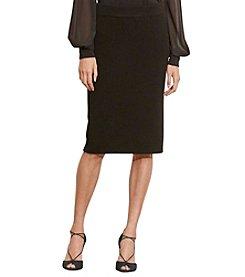 Lauren Ralph Lauren® Rib-Knit Merino Skirt