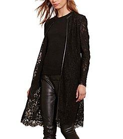 Lauren Ralph Lauren® Lace Open-Front Jacket