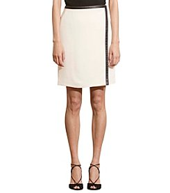 Lauren Ralph Lauren® Stretch Crepe Wrap Skirt