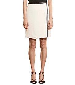 Lauren Ralph Lauren® Stretch Crepe Wrap Skirt