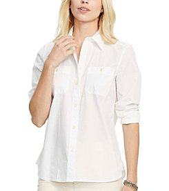 Lauren Ralph Lauren® Cotton Long-Sleeve Shirt