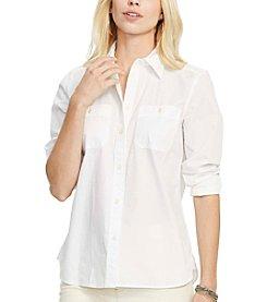 Lauren Ralph Lauren® Cotton Long-Sleeve Shirt