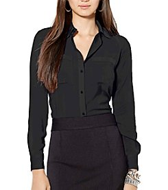 Lauren Ralph Lauren® Stretch Satin Shirt