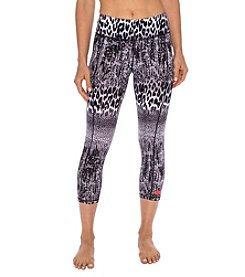 Betsey Johnson® Performance Lace Crop Leggings