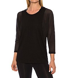 Betsey Johnson® Performance Batwing Pullover