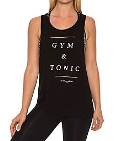 Betsey Johnson® Performance Gym And Tonic Tank
