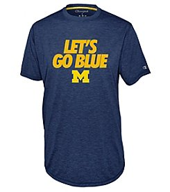Champion® Men's NCAA® University Of Michigan Touchback Short Sleeve Tee
