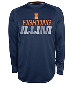 Champion® NCAA® Illinois Fighting Illini Men's Beast Long Sleeve Tee
