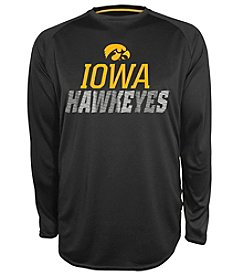 Champion® NCAA® Iowa Hawkeyes Men's Beast Long Sleeve Tee