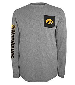 Champion® NCAA® Iowa Hawkeyes Men's Extra Point Long Sleeve Tee