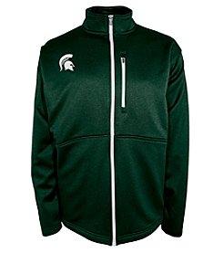 Champion® NCAA® Michigan State Spartans Men's Game Plan Full Zip Fleece