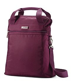 Samsonite® Grape Wine Might Light 2.0 Vertical Shopper + $50 Gift Card by Mail