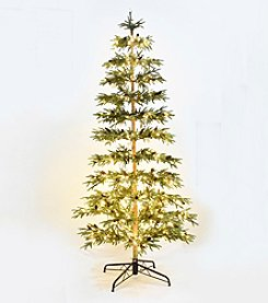 LivingQuarters Rustic Lodge Collection 10' Artificial Pre-lit Pine