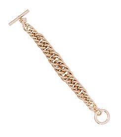 Lauren Ralph Lauren® Icons Goldtone Chain Bracelet