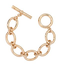 Lauren Ralph Lauren® Icons Goldtone Oval Link Bracelet