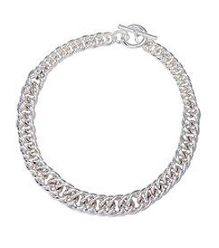 Lauren Ralph Lauren® Icons Silvertone Chain 18