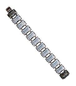 Lauren Ralph Lauren® Mad About Hue Grey Stone Bracelet