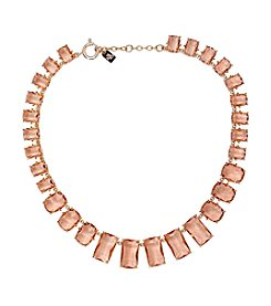 Lauren Ralph Lauren® Mad About Hue Topaz Stone Graduated Collar 16