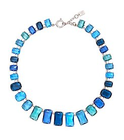Lauren Ralph Lauren® Mad About Hue Blue Stone Gratuated Collar 16