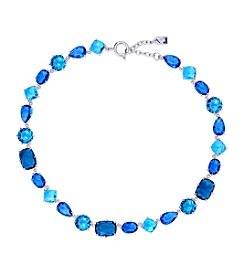 Lauren Ralph Lauren® Mad About Hue Blue Stone Collar 16