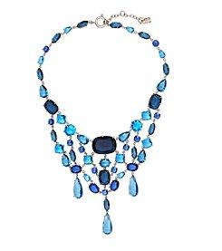 Lauren Ralph Lauren® Mad About Hue Blue Statement Bib 16