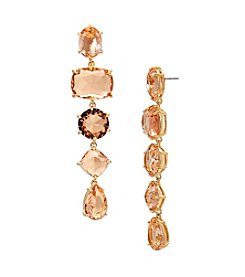 Lauren Ralph Lauren® Mad About Hue Topaz Linear Drop Pierced Earrings