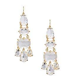 Lauren Ralph Lauren® Mad About Hue Clear Chandelier Pierced Earrings