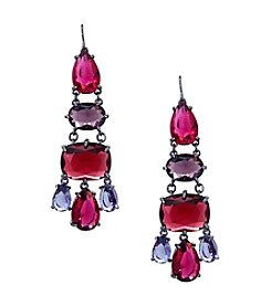 Lauren Ralph Lauren® Mad About Hue Berry Chandelier Pierced Earrings