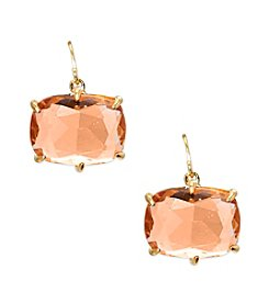 Lauren Ralph Lauren® Mad About Hue Topaz Medium Drop Pierced Earrings