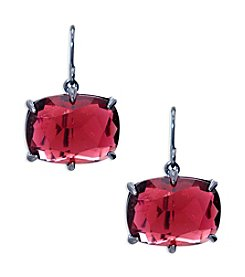 Lauren Ralph Lauren® Mad About Hue Berry Medium Drop Pierced Earrings