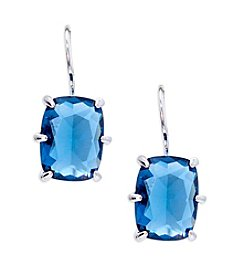 Lauren Ralph Lauren® Mad About Hue Blue Small Drop Pierced Earrings